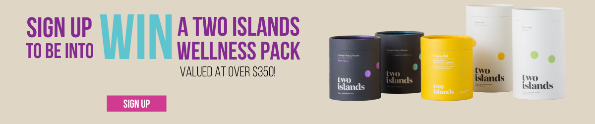 Two Islands Wellness pack banner
