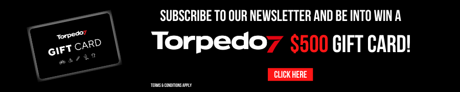 Subscribe to win a $500 Torpedo7 Gift Card